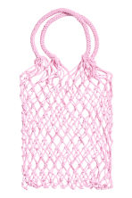 Mesh shopper - Light pink - Ladies | H&M 1