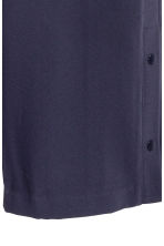 Wide trousers - Dark blue - Ladies | H&M CN 3