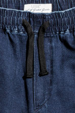 Knee-length cotton shorts - Dark denim blue - Men | H&M 3