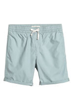 Knee-length cotton shorts - Light petrol - Men | H&M CN 1
