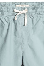 Knee-length cotton shorts - Light petrol - Men | H&M CN 2