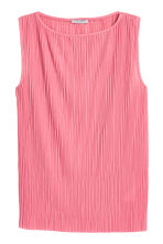 Pleated top - Pink - Ladies | H&M 2