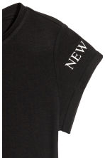 Printed top - Black/New York -  | H&M CN 4