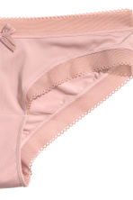 Microfibre hipster briefs - Old rose - Ladies | H&M 3