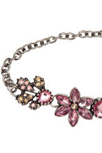 2-pack chokers - Silver/Pink - Ladies | H&M 3