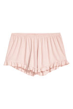 Jersey shorts - Powder pink/Striped - Ladies | H&M 2