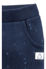 Patterned joggers - Dark blue - Kids | H&M CN 2