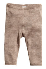Fine-knit set in a silk blend - Mole - Kids | H&M CN 2