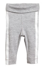 Bodysuit and trousers - Grey marl - Kids | H&M CN 2