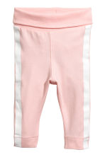 Bodysuit and trousers - Light pink - Kids | H&M 2