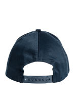 Cotton twill cap - Dark blue - Ladies | H&M CN 2