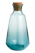 Glass carafe - Turquoise - Home All | H&M CN 2