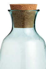 Glass carafe - Turquoise - Home All | H&M CN 3