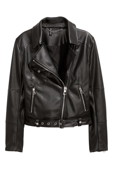 Giubbotto biker - Nero - DONNA | H&M IT 1