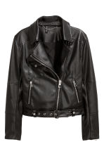 Biker jacket - Black - Ladies | H&M IE 1
