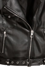 Biker jacket - Black - Ladies | H&M IE 3