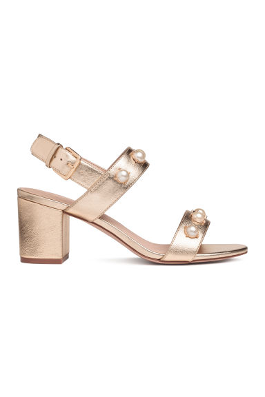 Sandals - Gold - Ladies | H&M CA