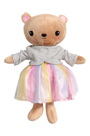 Soft toy - Beige/Grey - Kids | H&M 1