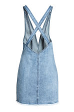 Denim dress - Denim blue/Embroidery - Ladies | H&M 3
