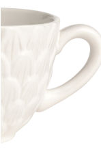 Tazza con motivi in rilievo - Bianco - HOME | H&M IT 2