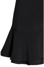 Flounced wrap skirt - Black - Ladies | H&M CN 3