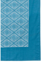 Patterned cotton tablecloth - Turquoise - Home All | H&M CN 4