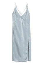 Slip dress - Light grey - Ladies | H&M 2