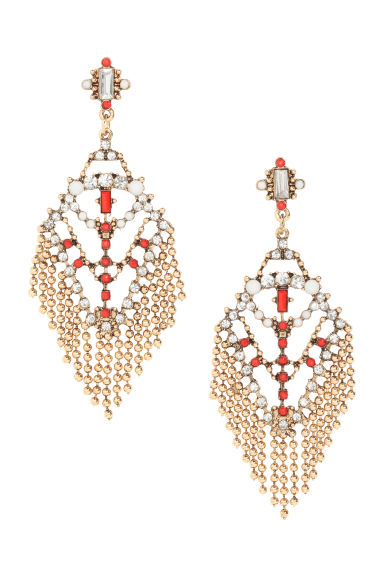 Earrings - Gold - Ladies | H&M CA 1