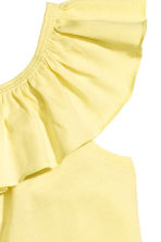 Frilled top - Yellow - Kids | H&M CA 3
