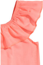 Frilled top - Coral pink - Kids | H&M 3