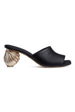 Mules - Black -  | H&M 2