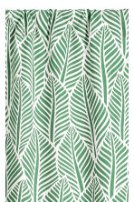 2-pack patterned curtains - Green/Leaf - Home All | H&M CN 3