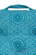 Patterned seat cushion - Turquoise - Home All | H&M IE 3