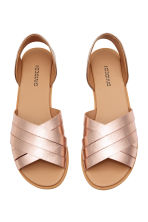Sandals - Rose gold - Ladies | H&M GB 2