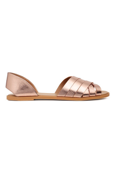Sandals - Rose gold - Ladies | H&M GB 1
