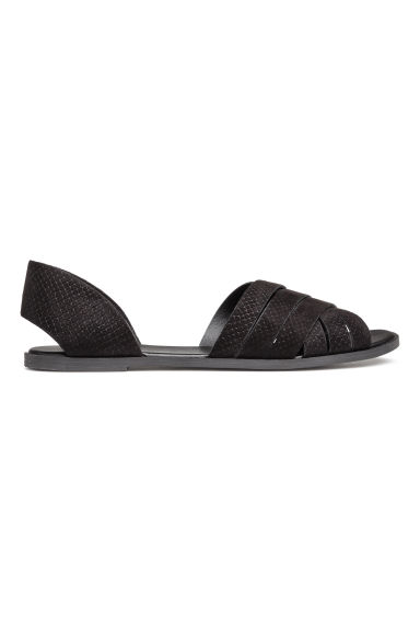 Sandals - Black - Ladies | H&M 1