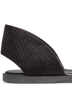 Sandals - Black - Ladies | H&M 4