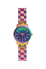 Metal watch - Purple - Ladies | H&M CN 1