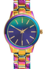 Metal watch - Purple - Ladies | H&M CN 3