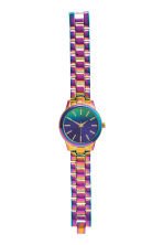 Metal watch - Purple - Ladies | H&M CN 2