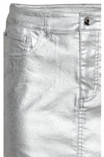 Denim skirt - Silver - Ladies | H&M 4
