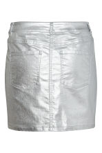 Denim skirt - Silver - Ladies | H&M 3