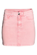 Denim skirt - Pink - Ladies | H&M 2
