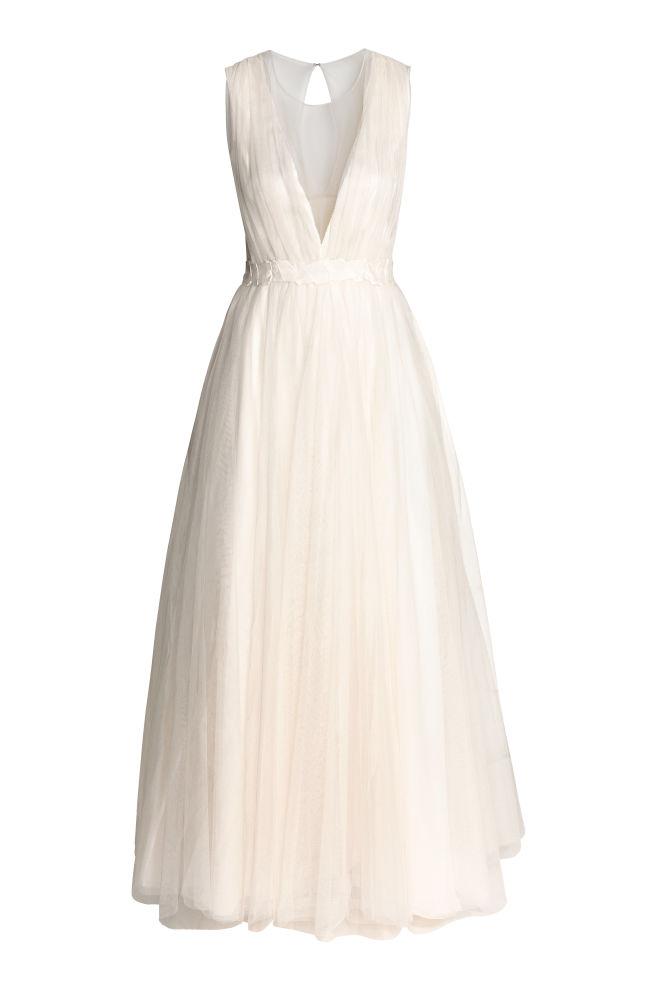 Brautkleid aus Tüll - Naturweiss - DAMEN | H&M CH