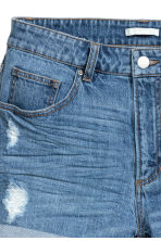 Denim shorts - Denim blue - Ladies | H&M CN 4