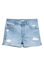 Denim shorts - Light denim blue - Ladies | H&M 2