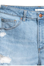 Denim shorts - Light denim blue - Ladies | H&M 4