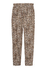平紋長褲 - Leopard print - Ladies | H&M 2