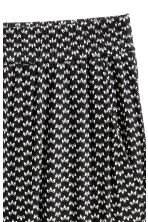 Jersey trousers - Black/Patterned - Ladies | H&M 3