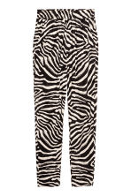 Jersey trousers - Zebra print - Ladies | H&M CA 2